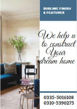 We help you to built your own dream home