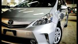 toyota prius alpha on easy installment