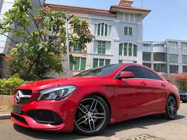 CLA200 Sport AMG 2017 Nik17 Facelift Red Chile Km10rb Panoramic ISP3Th