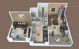 628 Sq FT 1 BHK Flats for Sale in SBM Aviva Pune, Hinjewadi