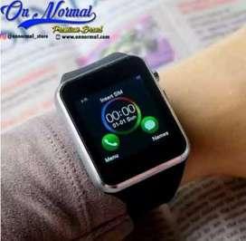 Smartwatch U10 jam hp smart watch A1 Applewatch earphone ipods iphone
