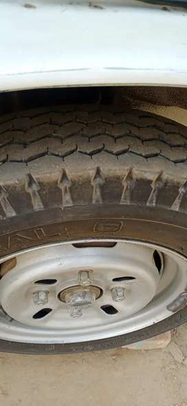 Ravi pickup a one condition new tyre
