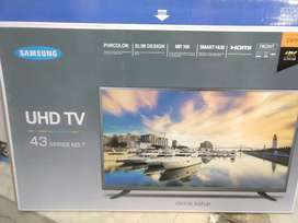 """25% discount  Samsung 43"""" 4k supported Smart LED TV Full HD display"""