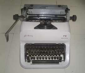 Vintage 1980s Godrej PB modle Typewriter working metal body