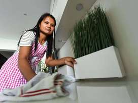 Vacancy for female open Live in Delhi 24 hrs House maids, Nanny.