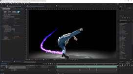 Video Editor required (adobe after affects)