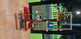 Wooden plant stand for sale