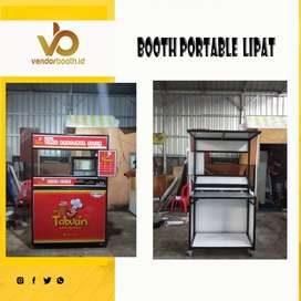 Booth portable lipat