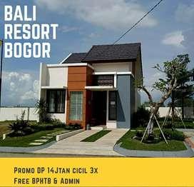 Bali Resort Bogor Harga 300JTan DP Murah 14 Jtan Free Bphtb & motor