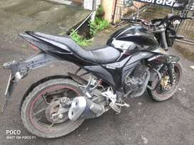 Gixxer with original tyres ABS