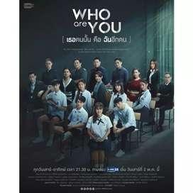 DVD Drama Thailand Who Are You Thai Movie Film Kaset Roman Romance