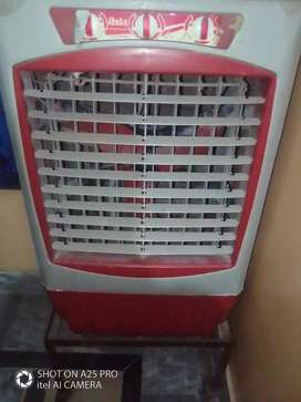AC AND DC ROOM COOLER WITH  IRON WHEEL STAND