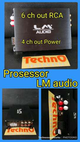 6 ch Out LM audio Prosesor processor 4ch out power paket sound audio