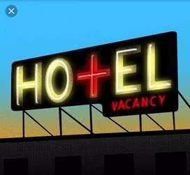 Cleaning staff needed for hotel