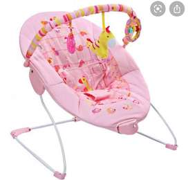 Baby bouncer pink (Mustela company)