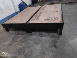 New double bed without box at reasonable price