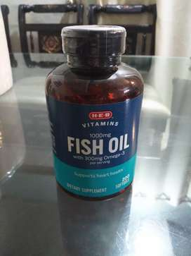 Fish oil with omega 3