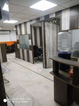 2 cabin,15 seats ,1 reception for rent in sector 4 Noida