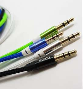 Kabel AUX IN STRING Cable 100cm FLECO / AUX Cable muraah
