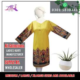 Ladies Printed Lawn Shirts in Factory Rate