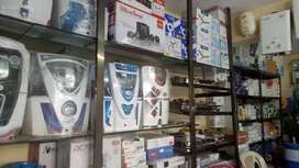 New Ro water purifier new seal pack with 1+4year warranty home deliver