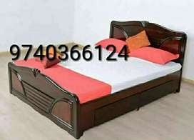 Brand new luxurious teakwood double cots with 5 years warranty