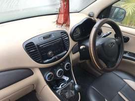 I10 , red color with all power windows
