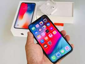 new seal pack Apple iPhone X 64gb/ 4gb  all clours available in stock