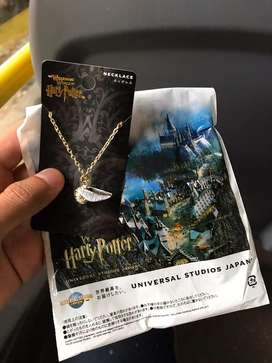 Kalung Harry Potter Golden Snitch Universal Studios Japan
