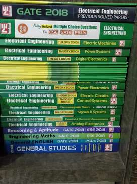 Made Easy GATE + ESE 2018 Study Material (Electrical)