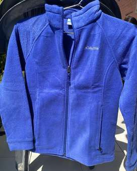 Blue fleece jacket with pockets. Prize negotiable