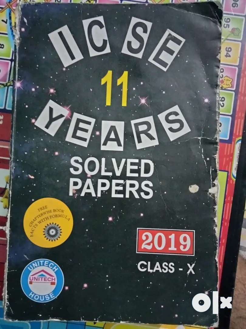 CLASS 10TH ICSE ELEVEN YEAR(2019)