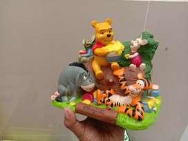 Diorama Winnie the pooh original souvenir Disneyland hongkong