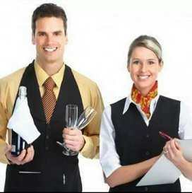 Urgent hiring for waiters, stewards for events management