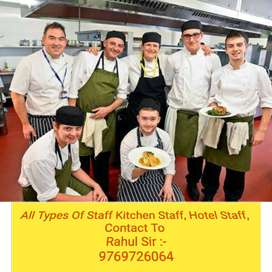 ( We Provide-Hotel STAFF/Restaurant Staff/Café Staff 9769726O64 )