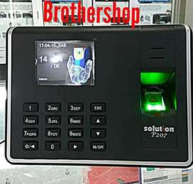 Mesin absensi sidik jari fingerprint SOLUTION P207