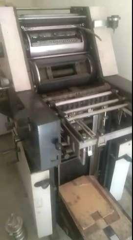Offset printing machine 12/18 And flex printing machine