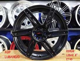 Velg Mobil Rally ADV R18 HSR Ring 18 Lebar 8 PCD 5X100 - 5x114,3 ET4