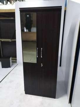 2 Door wardrobe with 5 Year warranty