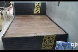 Wooden Bed 2 yrs old