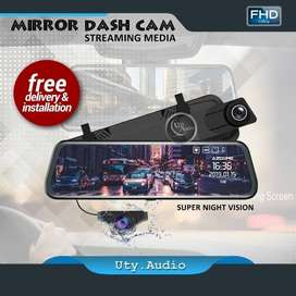 DASHCAM FRONT REAR STREAMING FHD #HOMESERVICE ( Uty audio )