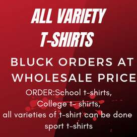 T-shirts wholesale at low price