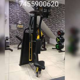Gym full new branded setup fully commercial ( Manufacturing )
