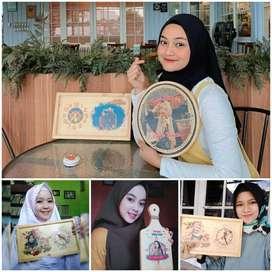 Custom Jam kado Unik Murah Bermanfaat Free Ongkir