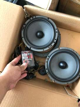 speaker split focal polyglass