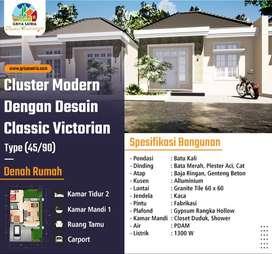 Cluster Modern Dengan Desain Classic Victorian