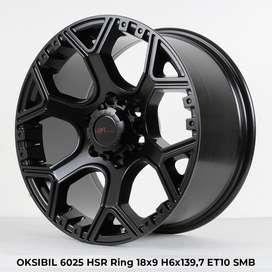 Pelek Murah OKSIBIL 6025 HSR R18X9 H6X139,7 ET10 SMB