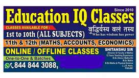 Maths Special Classes at Education IQ