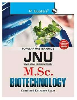 JNU M.Sc. Biotechnology combined entrance exam