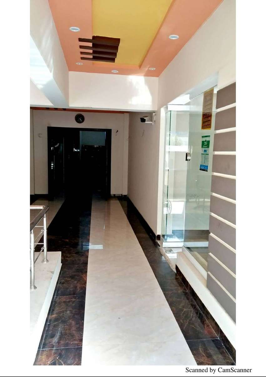 Brand New 3Bed Drawing Dining Flat Available For Sale With Complition 0